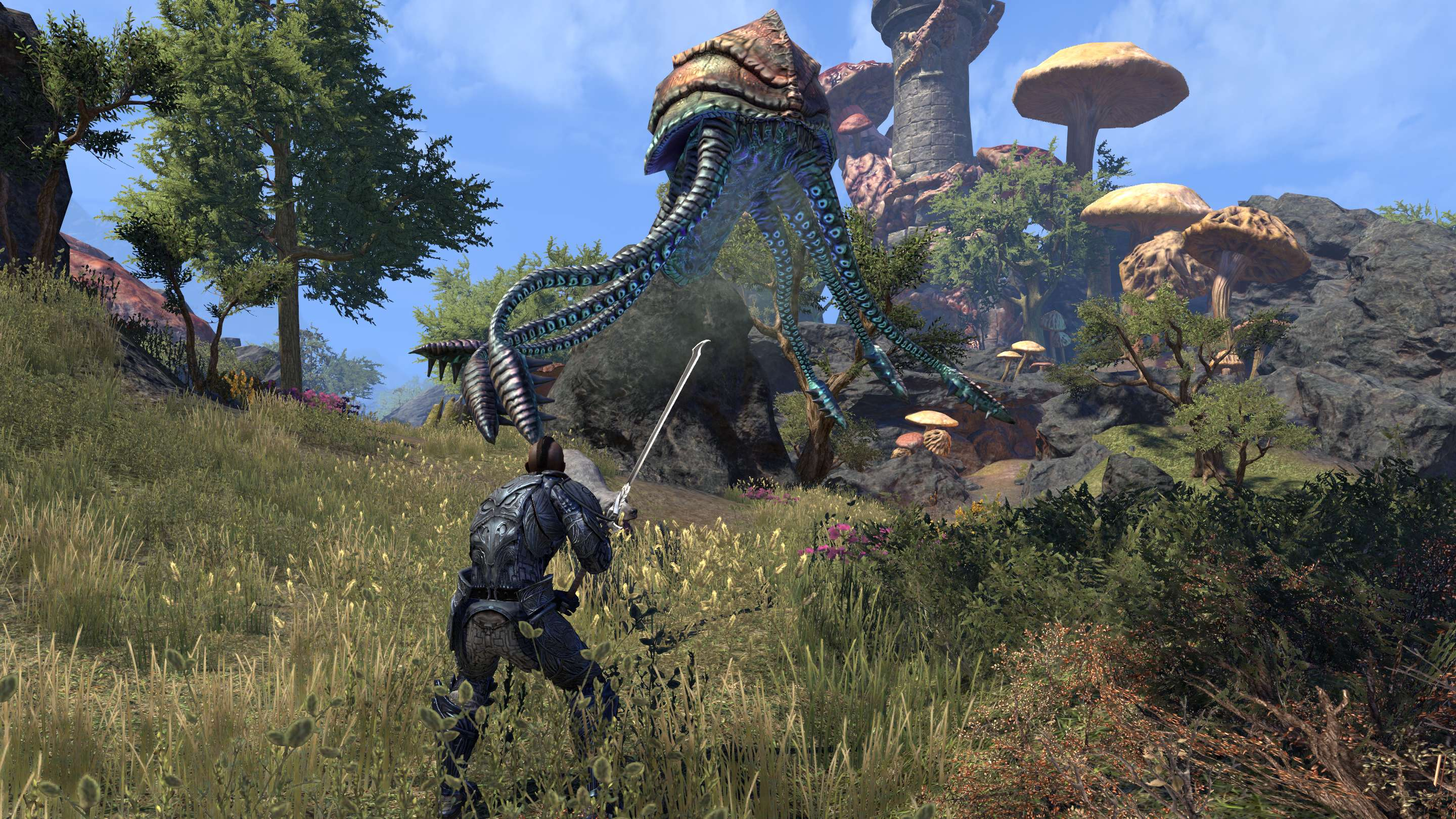 The Warden is ESO's First True Hybrid Class - MMORPG com