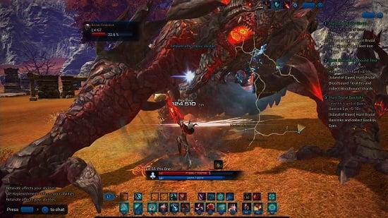 Portal Aoc Terra : Playstation 4 hands on preview mmorpg.com