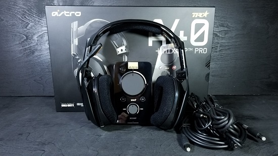 Astro A40 TR Gaming Headset and MixAmp: Tournament Ready