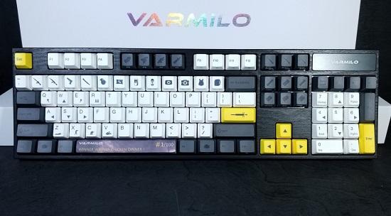 Varmilo's VA108M 'Chicken Dinner' Mechanical Keyboard is a
