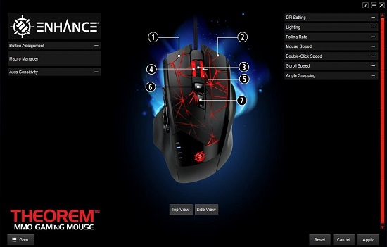 ENHANCE Theorem MMO/MOBA Gaming Mouse: A Competitor to the