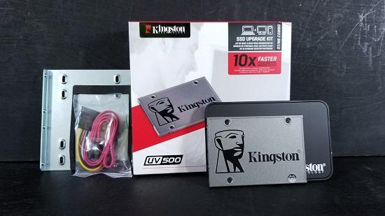 Kingston UV500 SSD: It's Secure, But Is It Fast? - MMORPG com