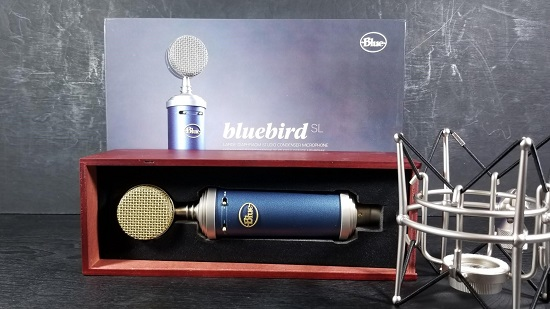 Blue Microphones Bluebird Condenser Mic: A Pro-Level Step-Up From