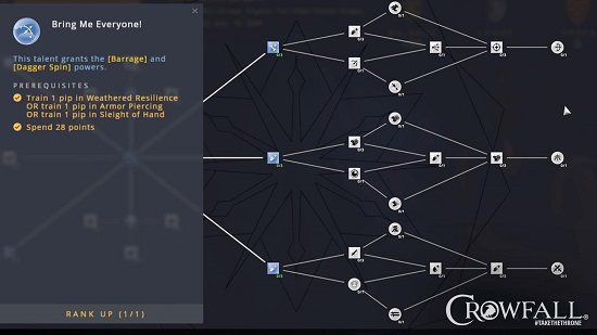 Crowfall - The Talent System Revealed - MMORPG com