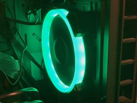 Cougar Vortex RGB HPB 120 PWM HDB Cooling Kit Review - MMORPG com
