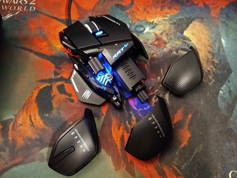 Mad Catz R A T  8+ Gaming Mouse Review - MMORPG com