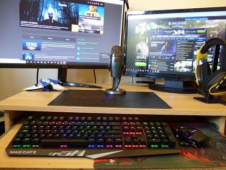 Mad Catz S T R I K E  4 Makes A Keyboard Comeback - MMORPG com
