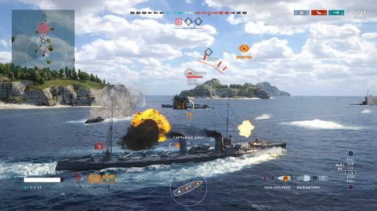 World Of Warships Legends Developer Interview Mmorpgcom - best battleship in roblox galaxy