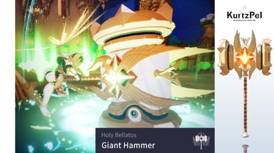 Fantasy Art Holy Hammer