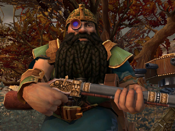 Warhammer Online Dwarf Engineer Screenshot