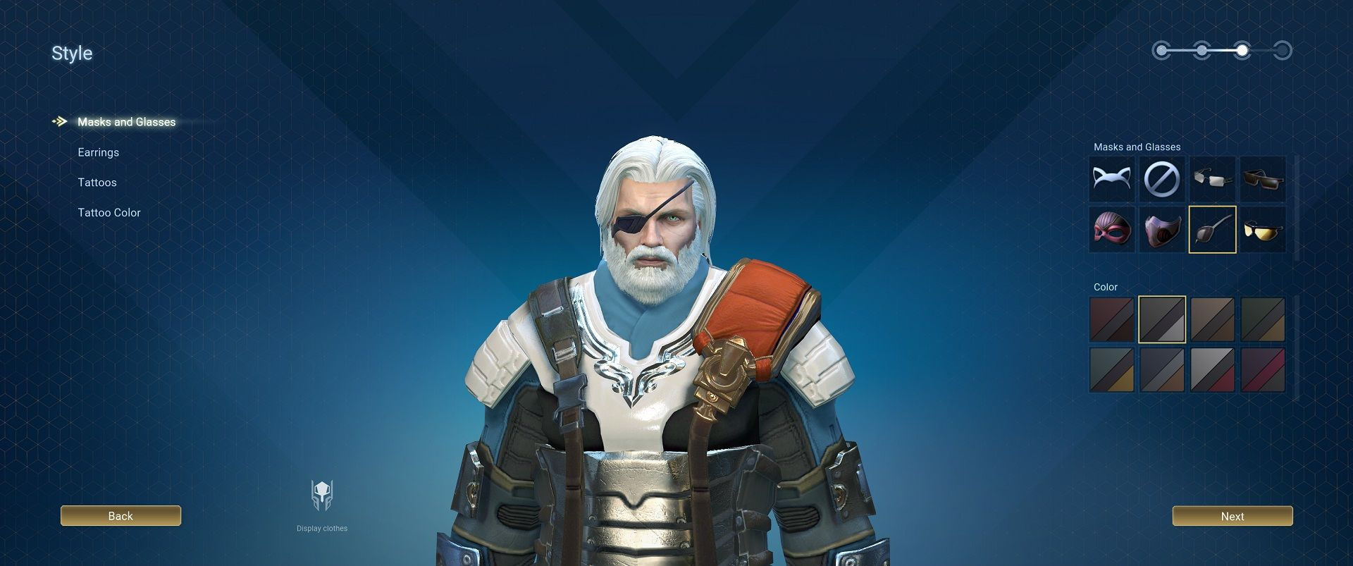 skyforge character customization