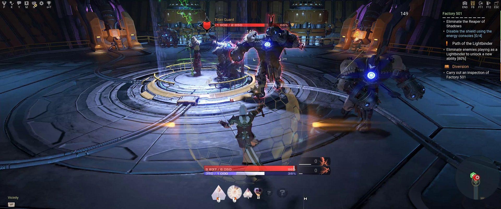 skyforge combat 2