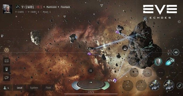 EVE Echoes Mobile MMO