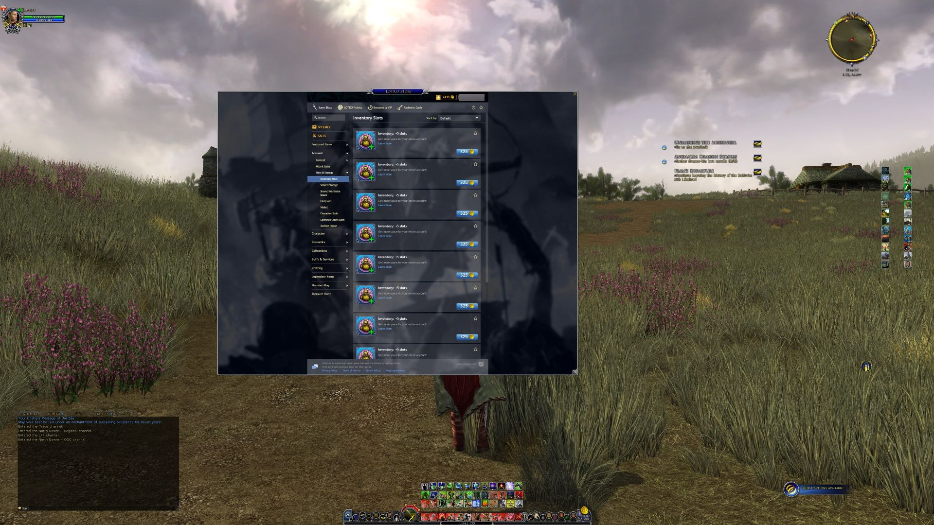 LOTRO Store Lord of the Rings Online