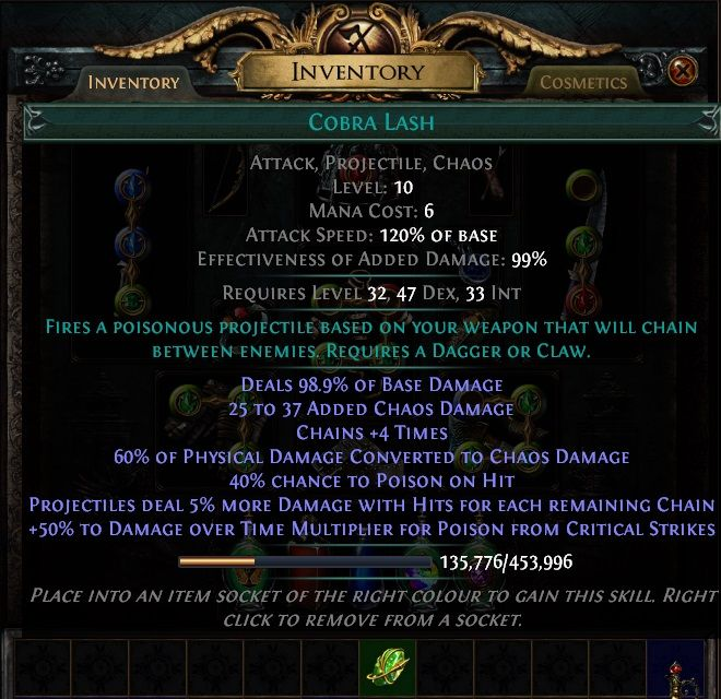 Path of Exile Active Skill Gems