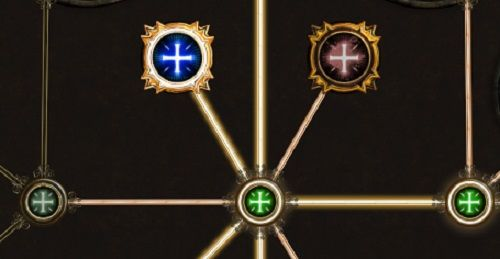Path of Exile Attribute Nodes