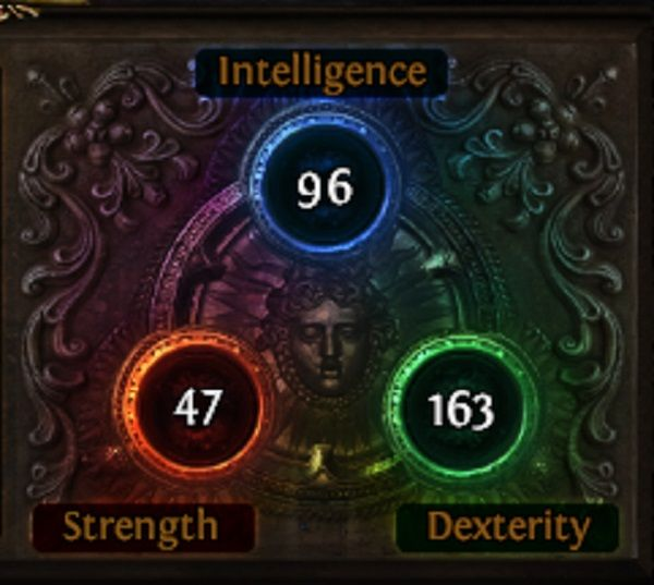 Path of Exile Attributes