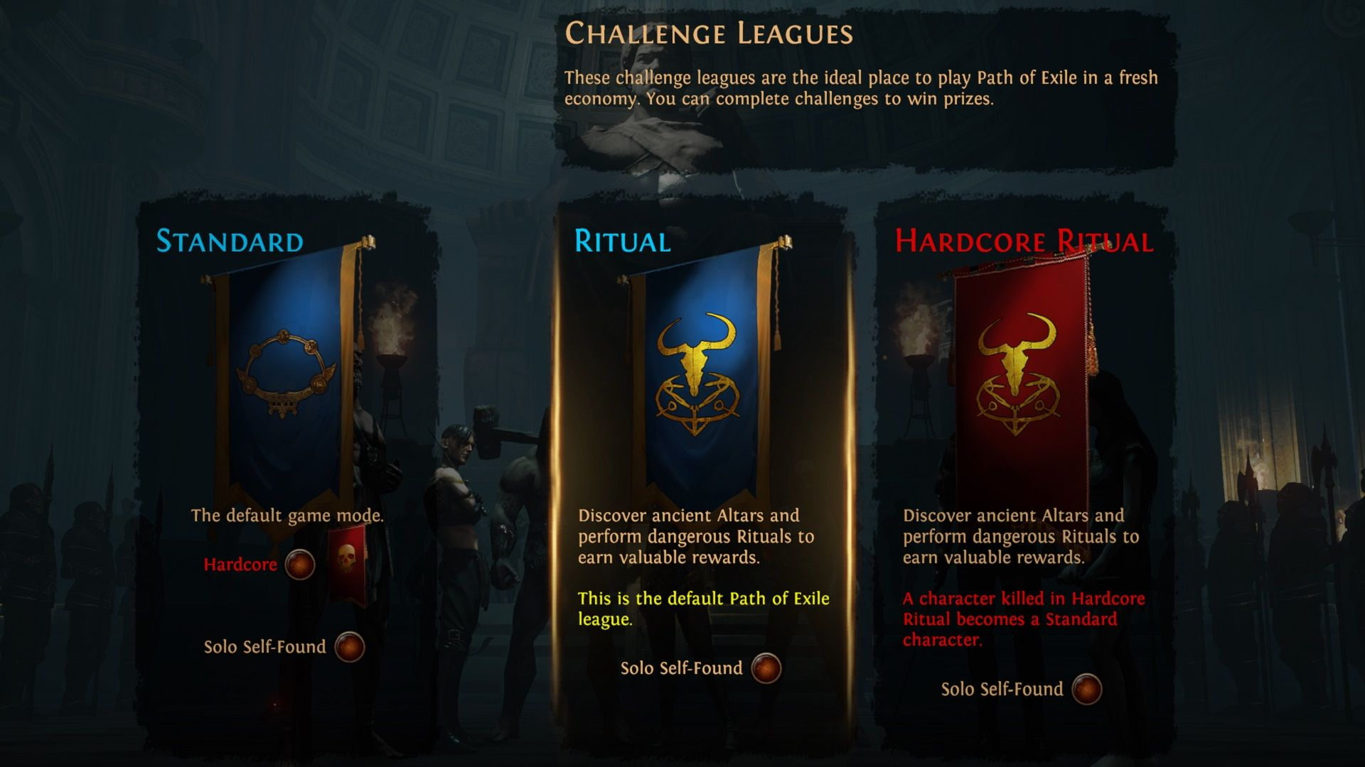 Path of Exile Challenge Leagues
