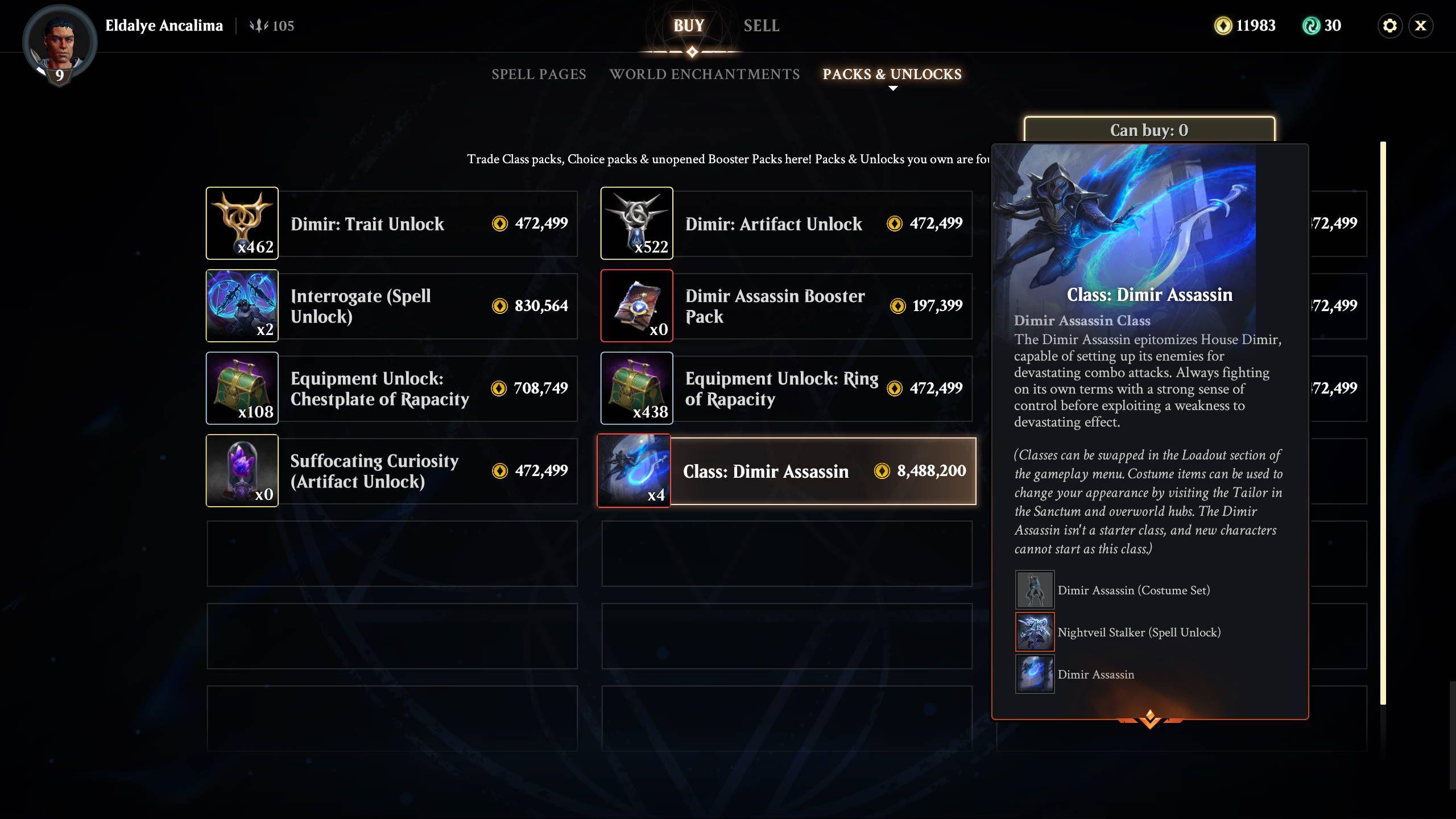 Magic Legends Exchange