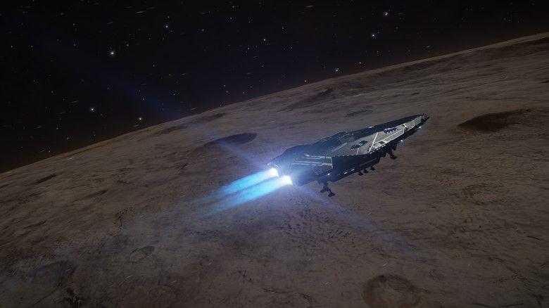 Epsilon Eridani Major's Mine Elite Dangerous
