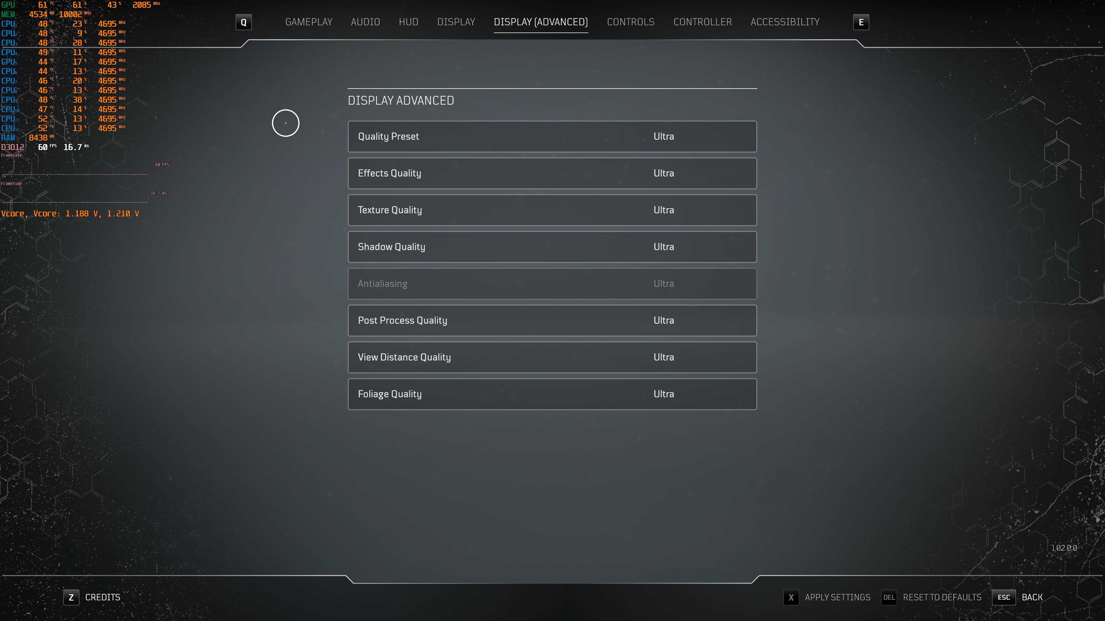 outriders pc graphics options