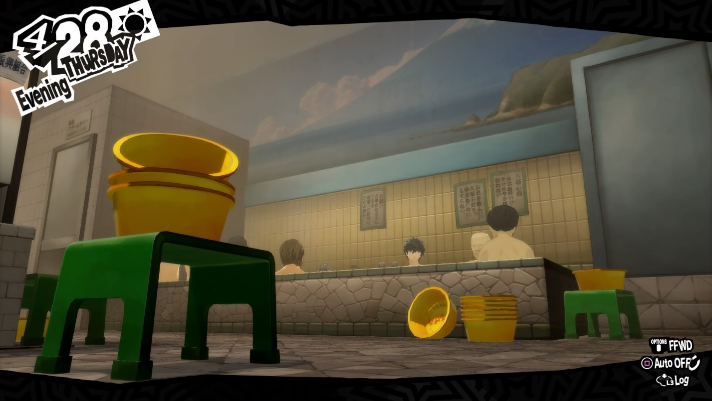 Persona 5 Royal Bathhouse