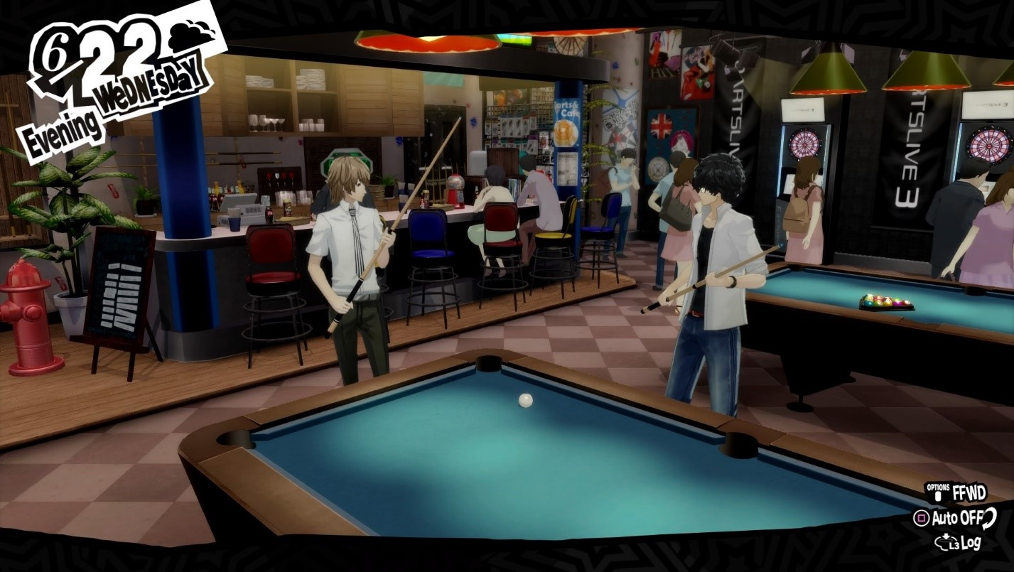 Persona 5 Royal Billiards