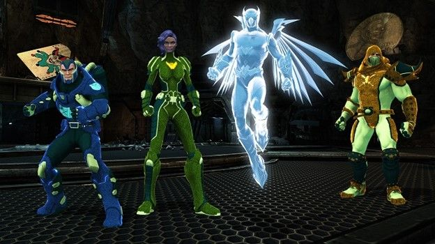 World of Flashpoint DCUO Characters