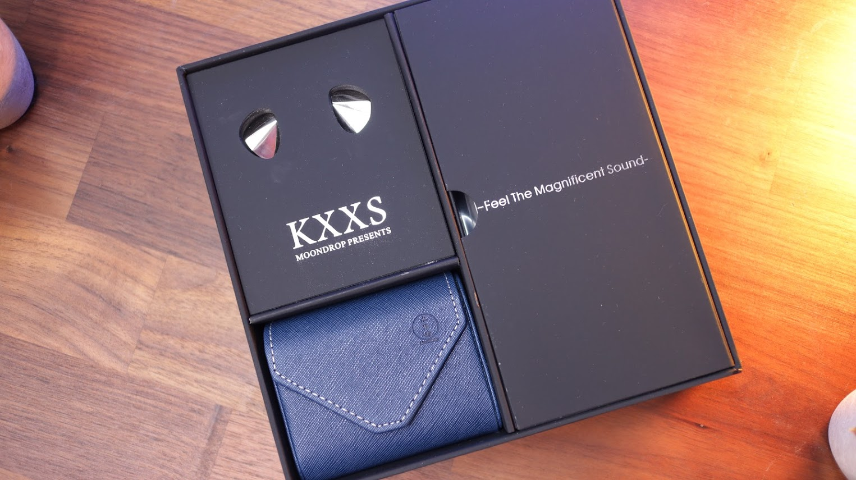 Moondrop KXXS Unboxing