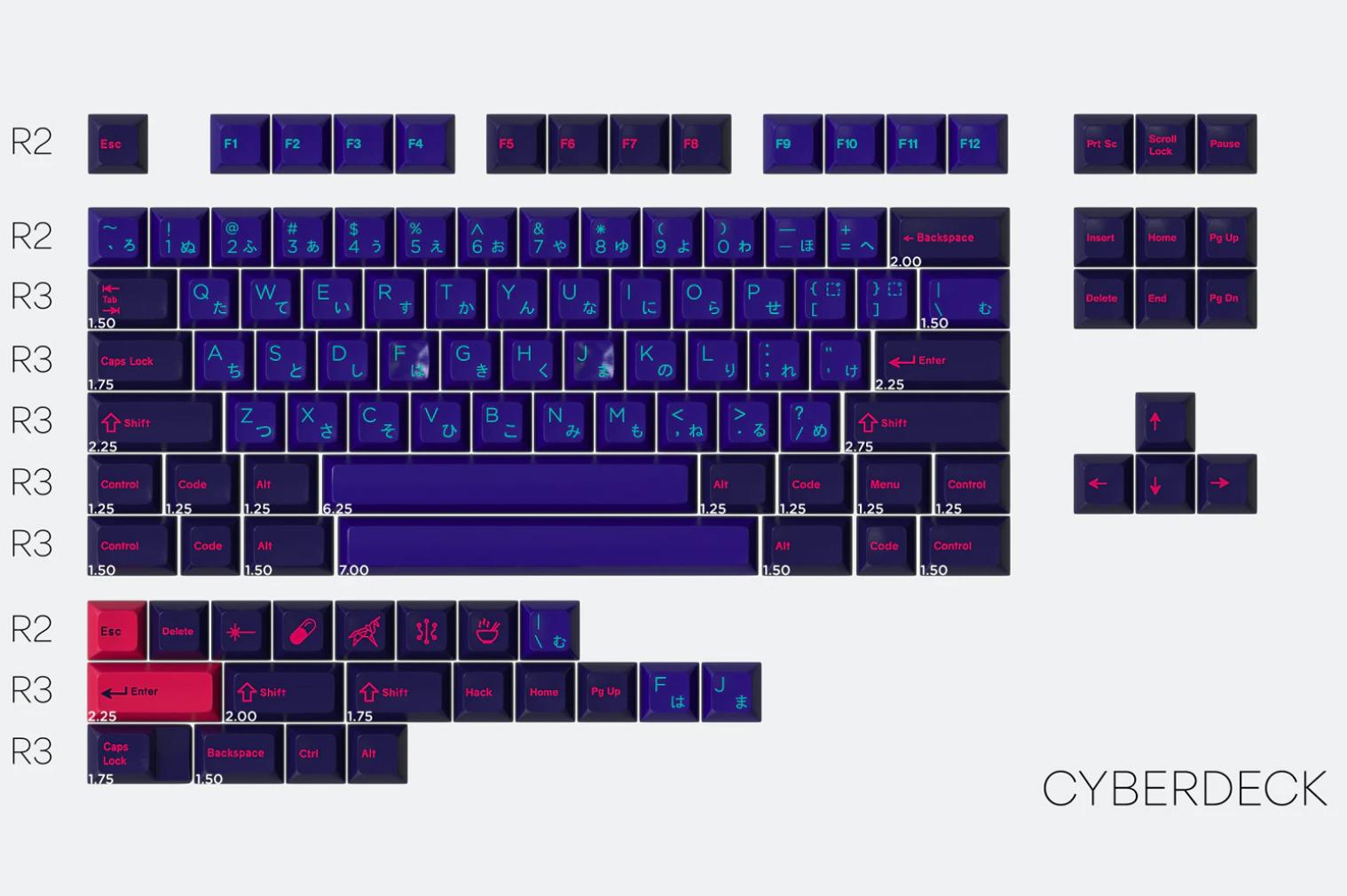 Drop + Mito SA Laser Cyberdeck