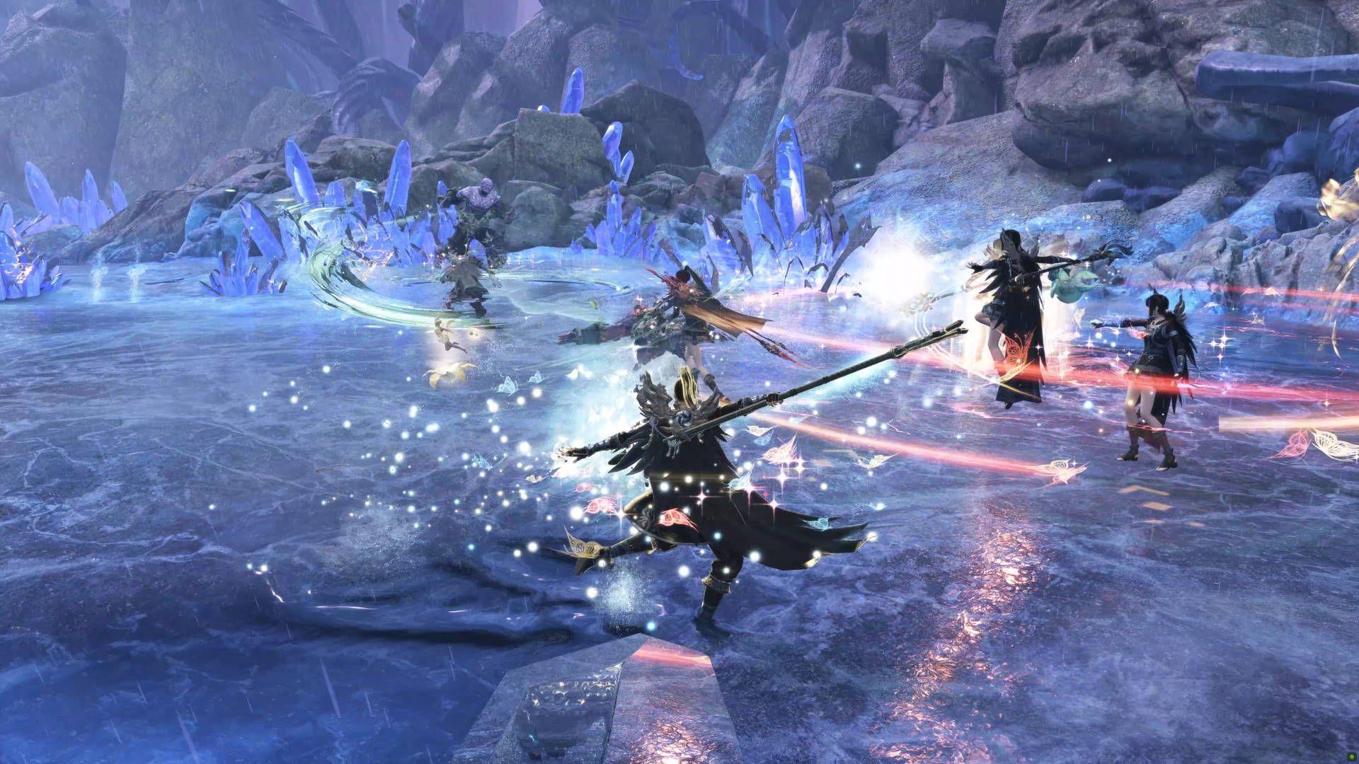 Group Raid Swords of Legends Online