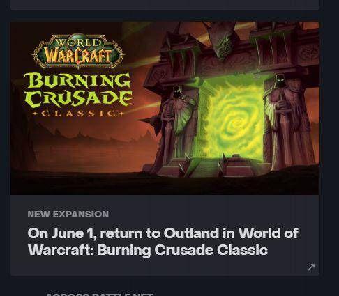 The Burning Crusade Classic Leak