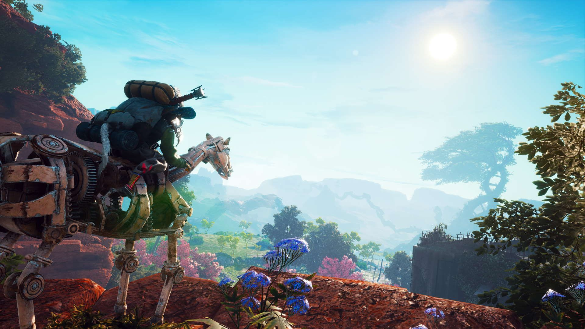 Biomutant Mounted Character