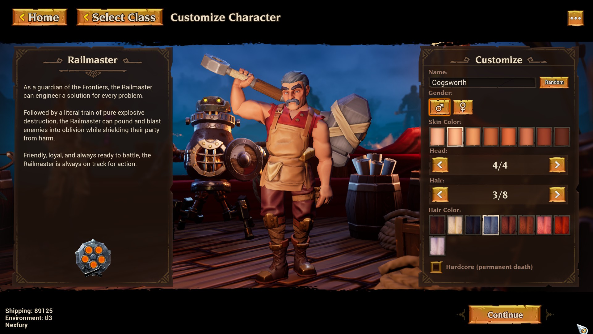 Torchlight 3 Character Customization