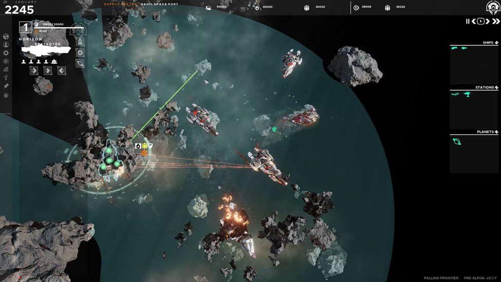 Falling Frontier Combat E3 2021