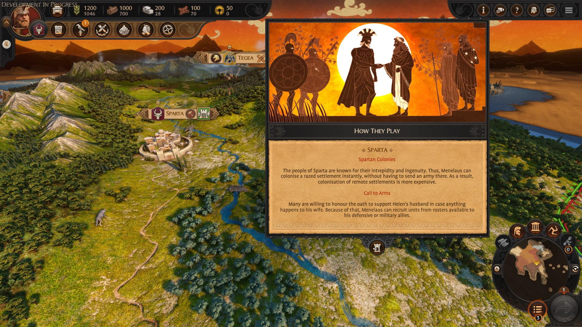 a total war saga troy sparta