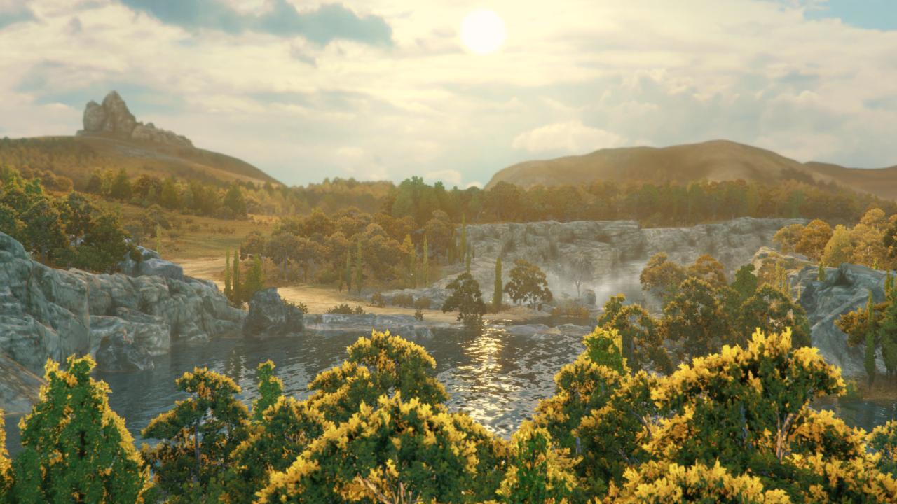 total war saga troy waterfall