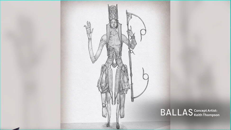 TennoCon 2021 Ballas Concept Art Warframe