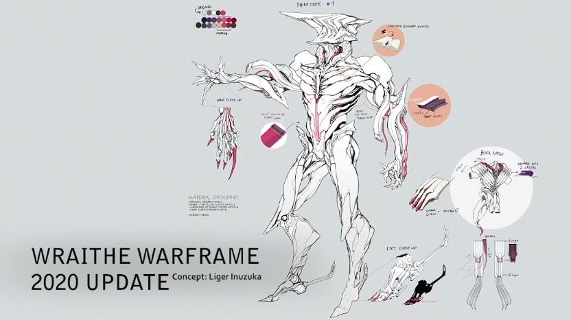 wraith warframe tennocon