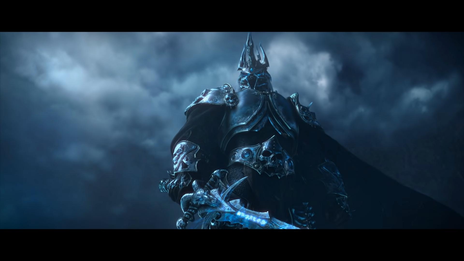 World of Warcraft Lich King Arthas Frostmourne