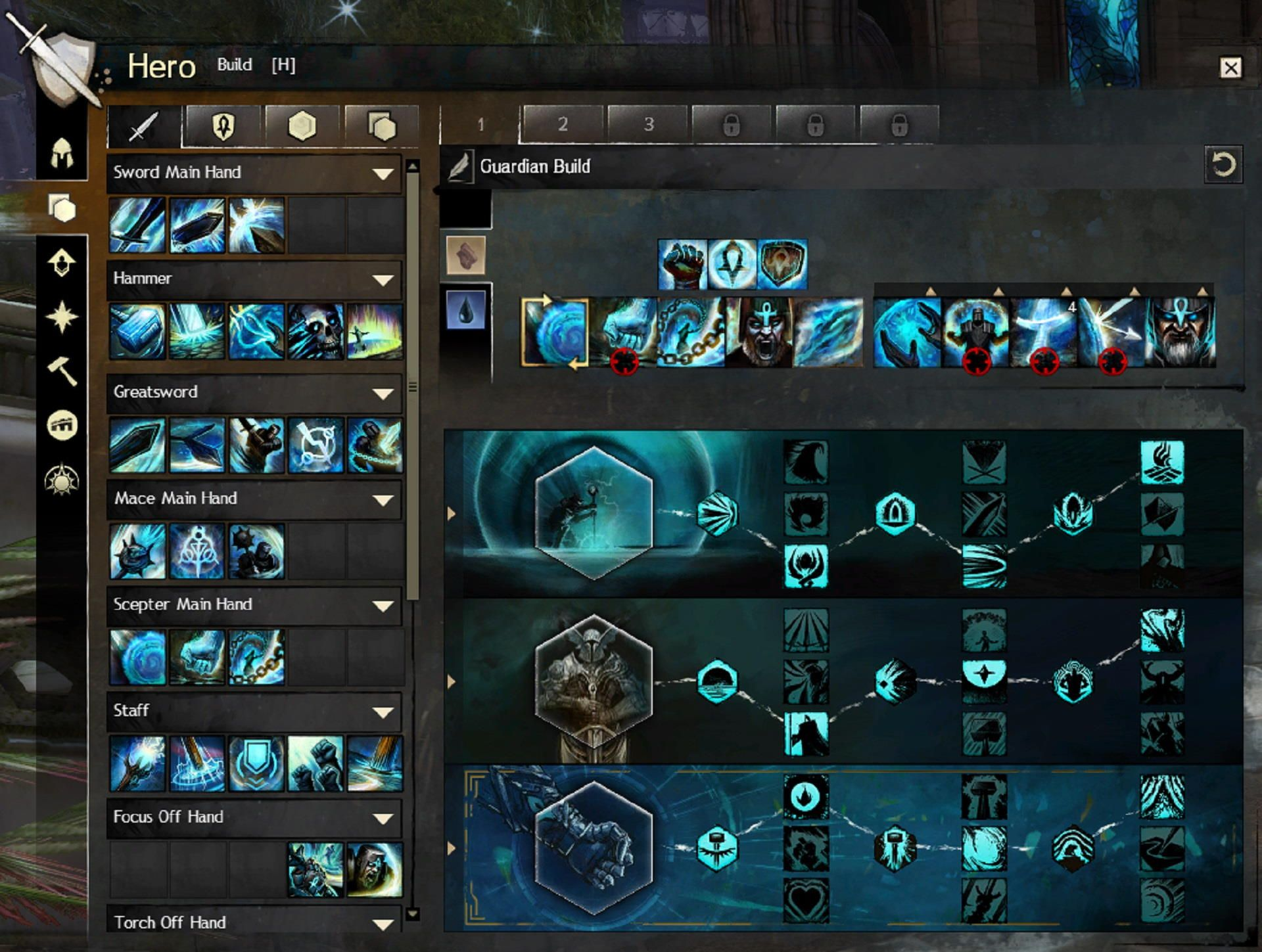 Guild Wars 2 Character Progression