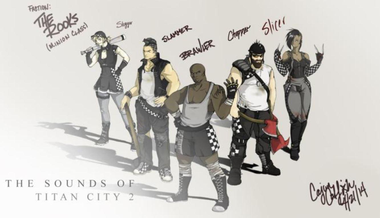 Sounds of Titan City