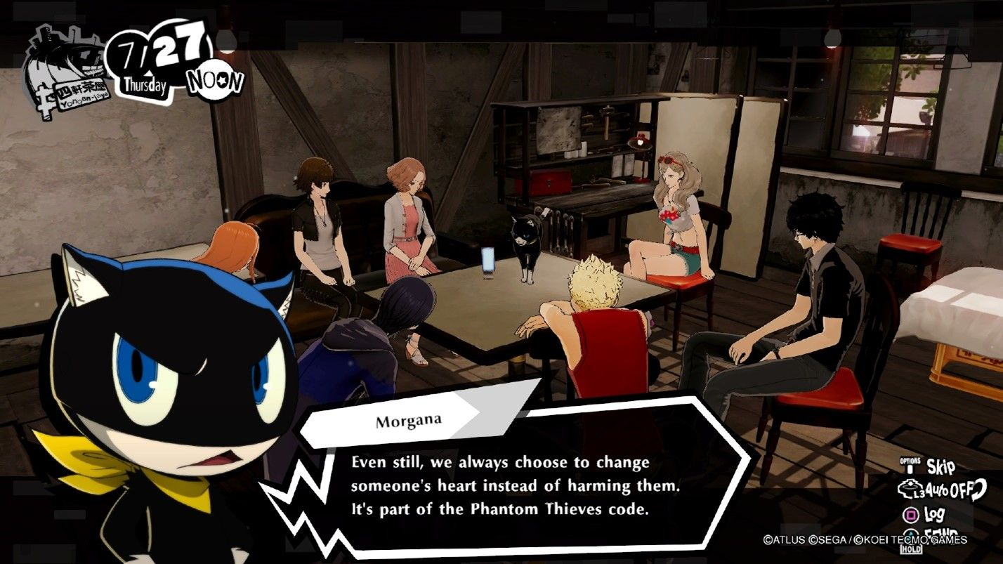Persona 5 Strikers Hideout