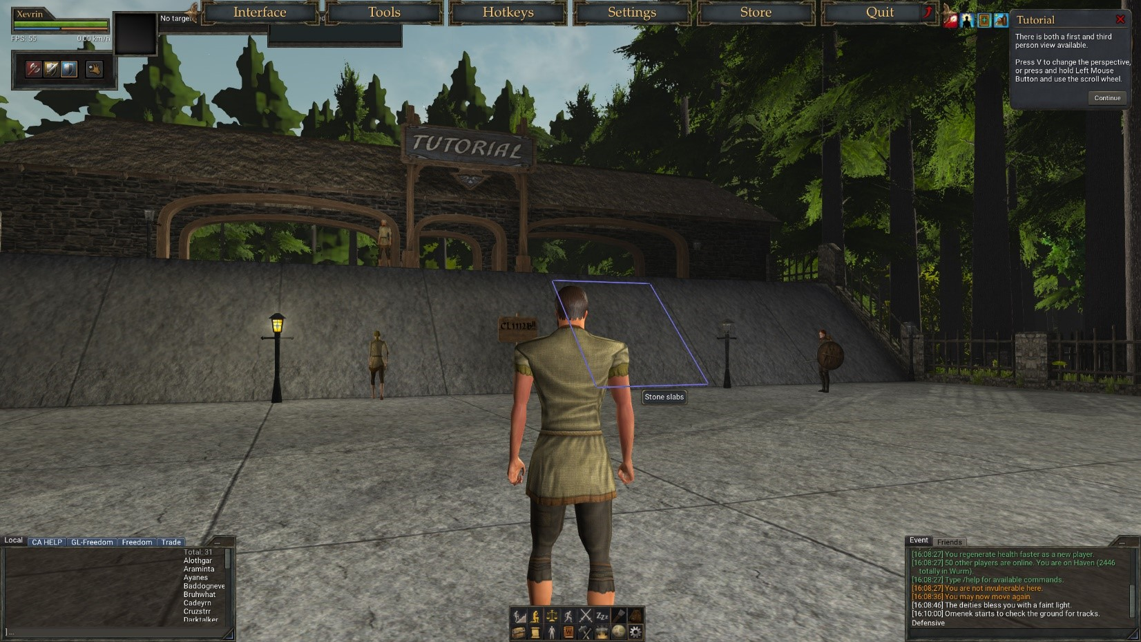 wurm online tutorial