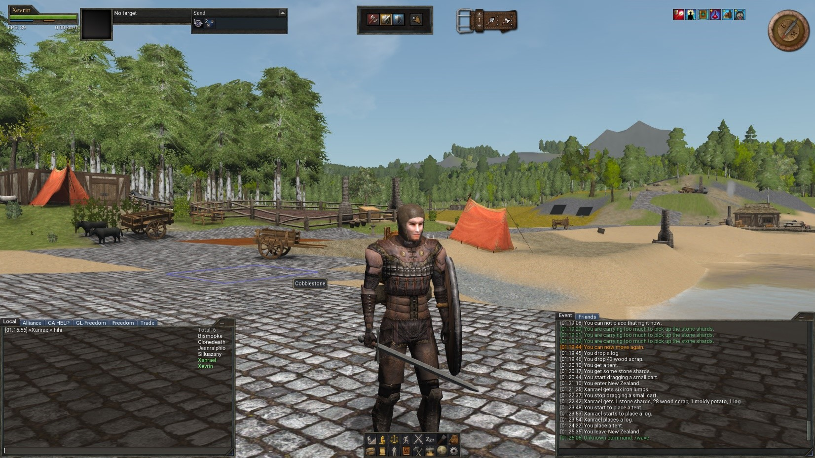 wurm online player armor