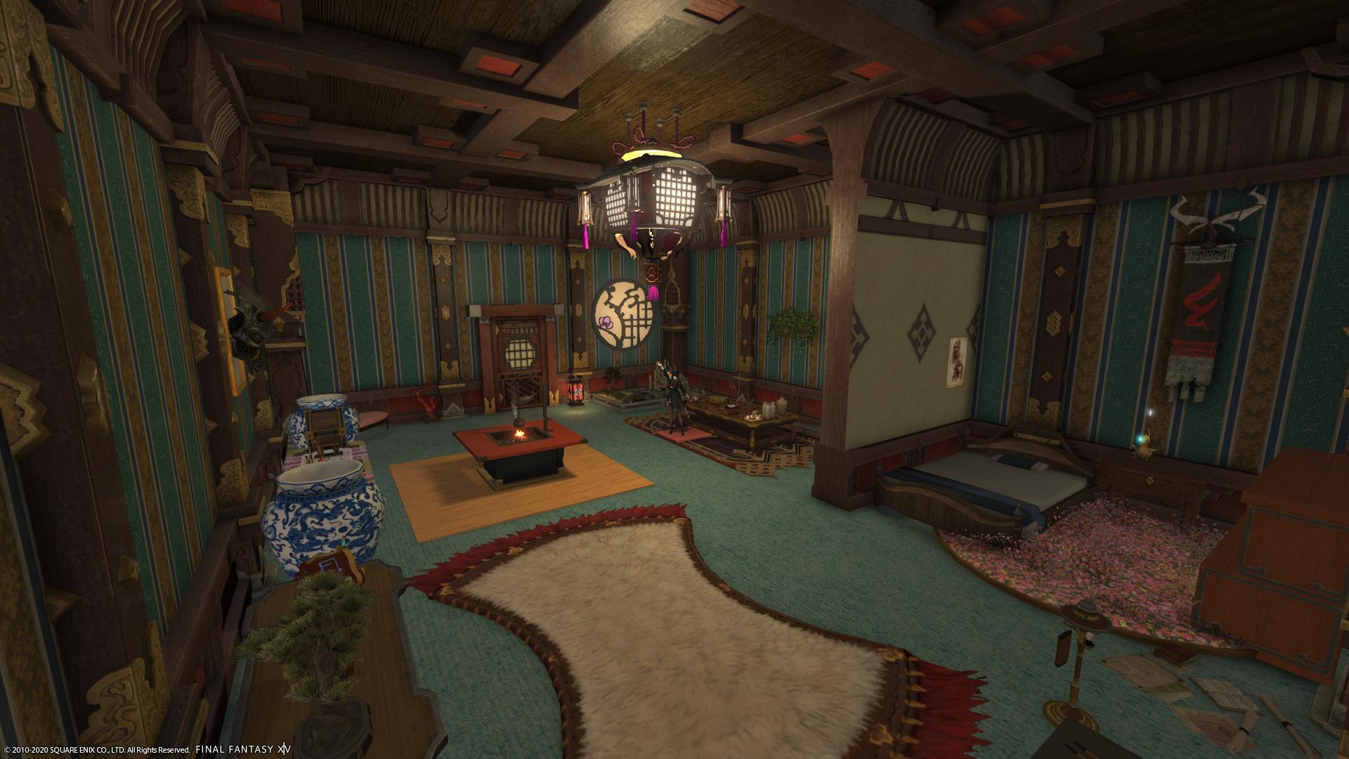 FFXIV Apartment Interior