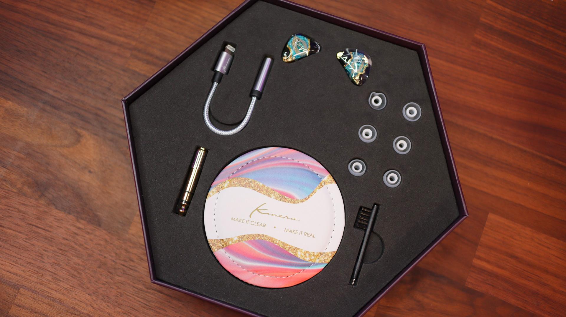 Accesorios Freya (en caja)