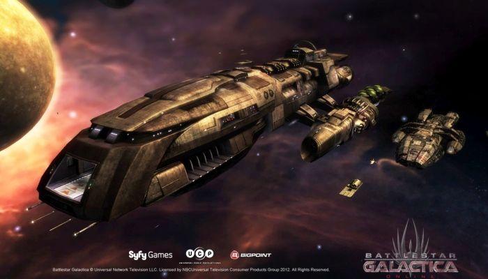 Battlestar Galactica en línea