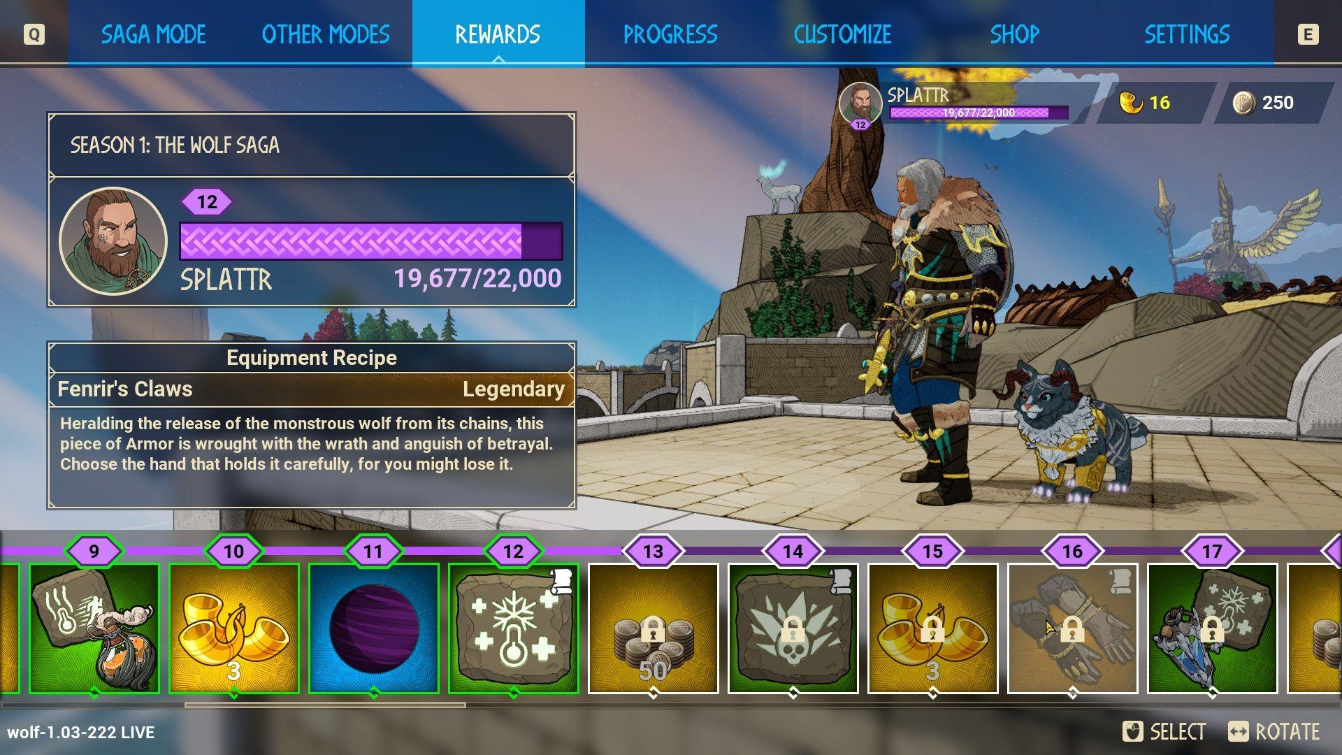 tribes of midgard saga levels