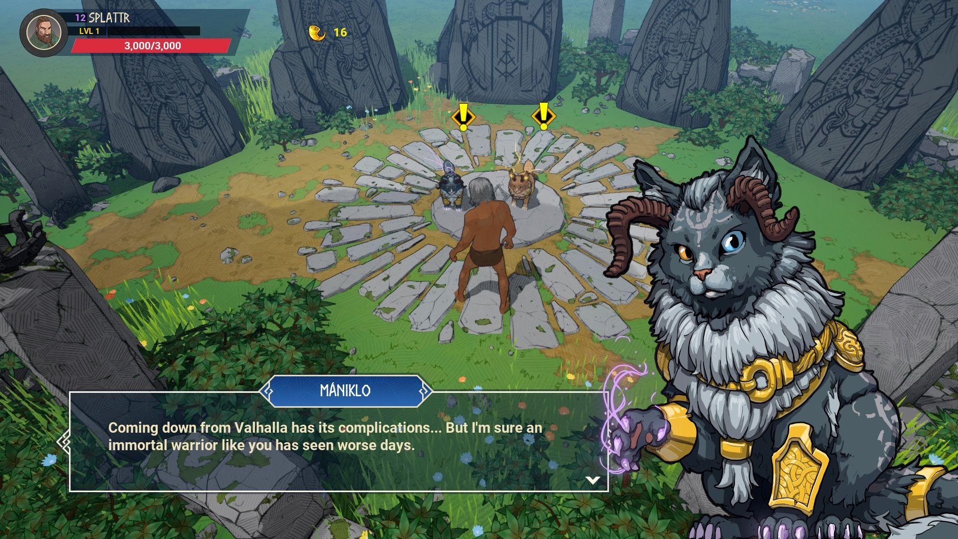 tribes of midgard tutorial